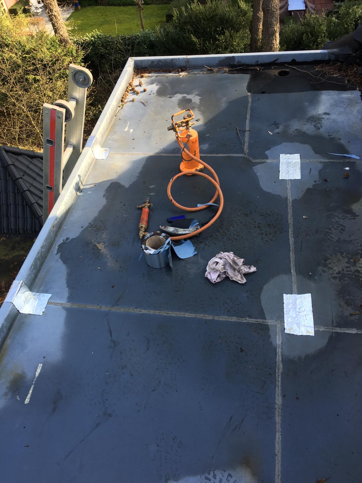 Snelle reparatie bij daklek Zeist